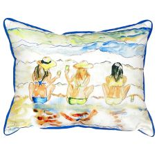 Bottoms Up Extra Large Zippered Pillow 20X24