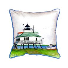 Hopper Strait Lighthouse Extra Large Zippered Pillow 20X24