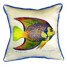 Queen Angelfish Extra Large Zippered Pillow 22X22