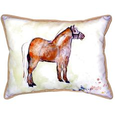 Shetland Pony Extra Large Zippered Pillow 20X24