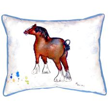 Clydesdale Extra Large Zippered Pillow 20X24