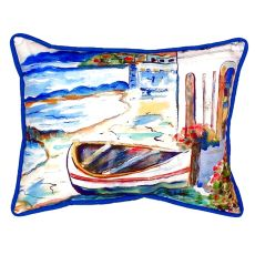 Sicilian Shore Extra Large Zippered Pillow 20X24
