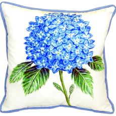 Dick'S Hydrangea Extra Large Zippered Pillow 22X22