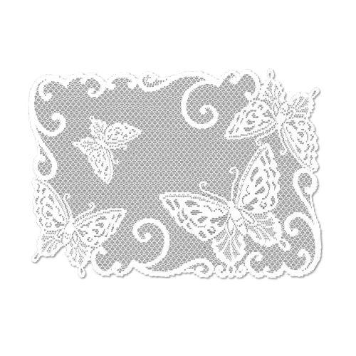 Butterflies 14X20 Placemat, White