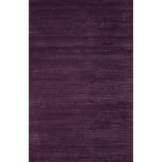 Solids & Heathers Pattern Wool And Viscose Basis Area Rug