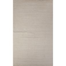 Luxury Stripes Pattern White Wool and Art Silk Area Rug (9x12)