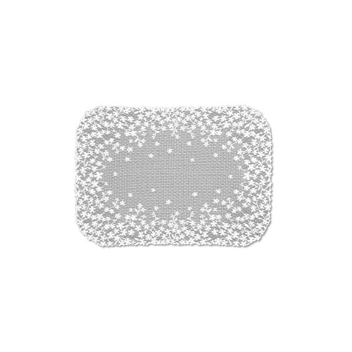 Blossom 14X20 Placemat, White