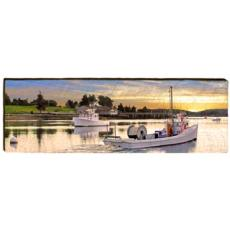 Dead Rise Oyster Boat Wood Wall Art