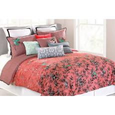 Nanette Lepore Botanical Porcelain Full/Queen Size Comforter Set