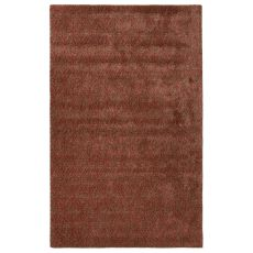 Contemporary Tribal Pattern Red Wool And Art Silk Area Rug (9.6X13.6)