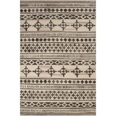 Tribal Pattern Wool Bristol Area Rug