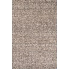 Solids Solids & Heather Pattern Taupe/Ivory  Wool Area Rug (8X10)