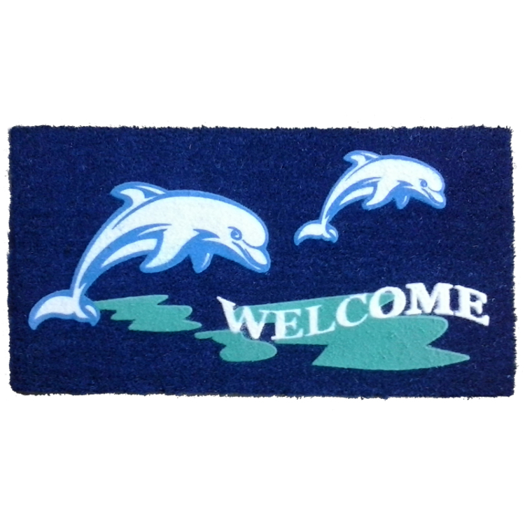 Beach Dolphin Doormat