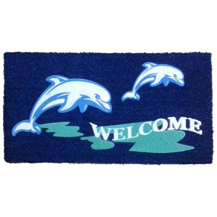 Beach Dolphin Doormat