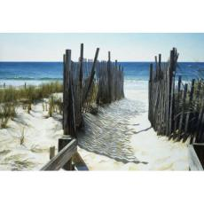 Beach Access Canvas Art