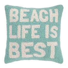 Beach Life Is Best Hook Pillow