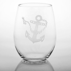 Rope Anchor White Wine Tumblers (set of 4)