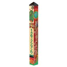 Blessing 4' Custom Address Garden Pole