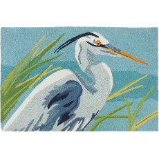 Blue Heron Accent Rug