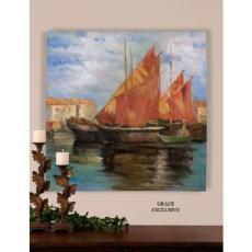 Bright Sailing Painting