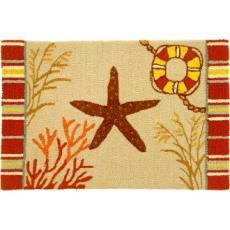 By the Sea Starfish Rug