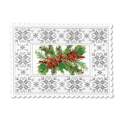 Pine & Berries 14X20 Placemat
