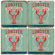 Lobster Coasters (Set Of 4)