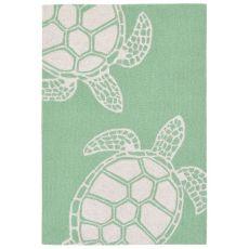 "Turtle Green Rug 20"" x 30"""