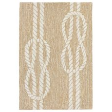 "Liora Manne Capri Ropes Indoor/Outdoor Rug - Natural, 24"" By 36"""