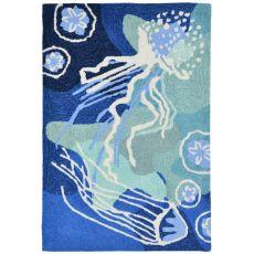 "Jelly Fish Ocean Rug 7'6"" x 9'6"""