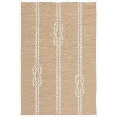 Liora Manne Capri Ropes Indoor/Outdoor Rug - Natural, 5' by 7'6""