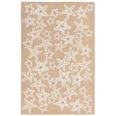Starfish Neutral Rug 5' x 7'6""