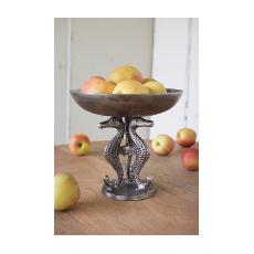 Sea Horse Compote - Pedestal Bowl