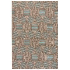 Geometric Pattern Polyester Catalina Area Rug
