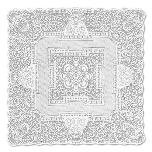 Canterbury Classic 36X36 Table Topper, White