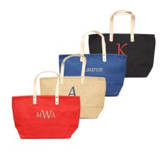 Red Nantucket Tote