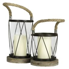 Hatteras Large Candle Holder
