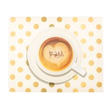 Personalized Espresso Coffee Canvas