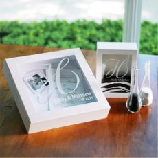 The Wedding Shadow Box Set in White