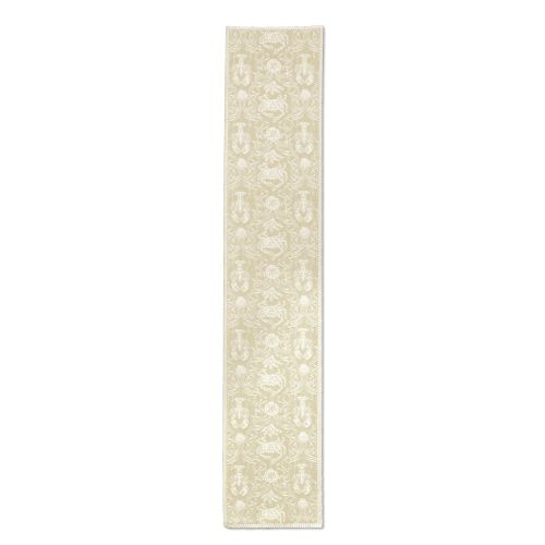 Crab Damask 14X72 Table Runner
