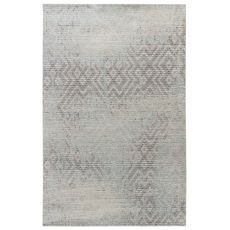 Contemporary Vintage Look Pattern Gray/Neutral Polypropylene Area Rug ( 7.8X10)