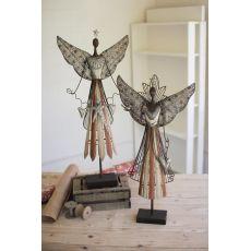 Galvanized Angels, Set of 2