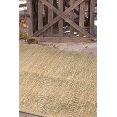 Naturals Solid Pattern Ivory/White Jute Area Rug (8X10)