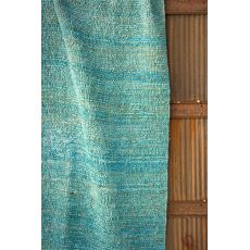 Naturals Solid Pattern Blue Jute Area Rug (8X10)