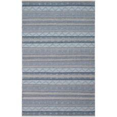 """Liora Manne Cosmos Gypsy Stripe Indoor/Outdoor Rug Blue 5'X7'6"""""""