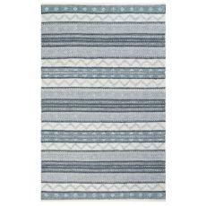 "Liora Manne Cosmos Gypsy Stripe Indoor/Outdoor Rug Grey 42""X66"""