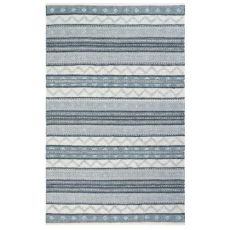 "Liora Manne Cosmos Gypsy Stripe Indoor/Outdoor Rug Grey 8'3""X11'6"""