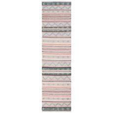 "Liora Manne Cosmos Gypsy Stripe Indoor/Outdoor Rug Pastel 24""X8'"