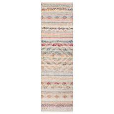 "Liora Manne Cosmos Kilim Indoor/Outdoor Rug Pastel 24""X8'"
