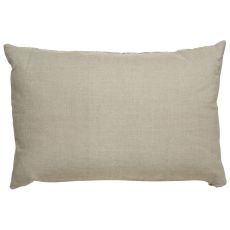 """Modern/Contemporary Pattern Taupe/Ivory Linen Down Fill Pillow ( 16""""X24"""")"""